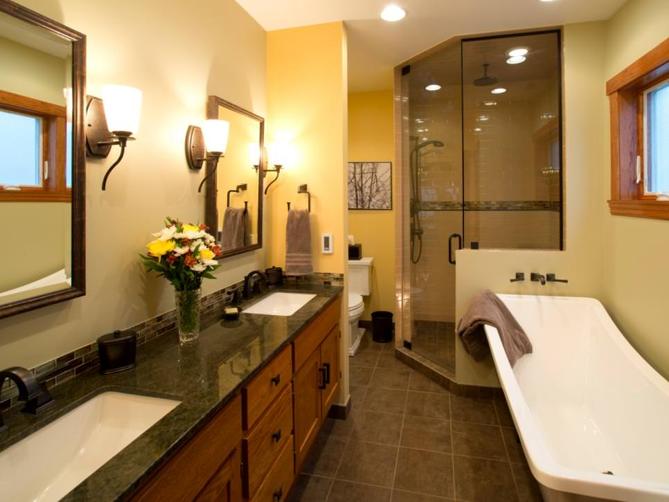 Master Bathroom Double Vanity Designs