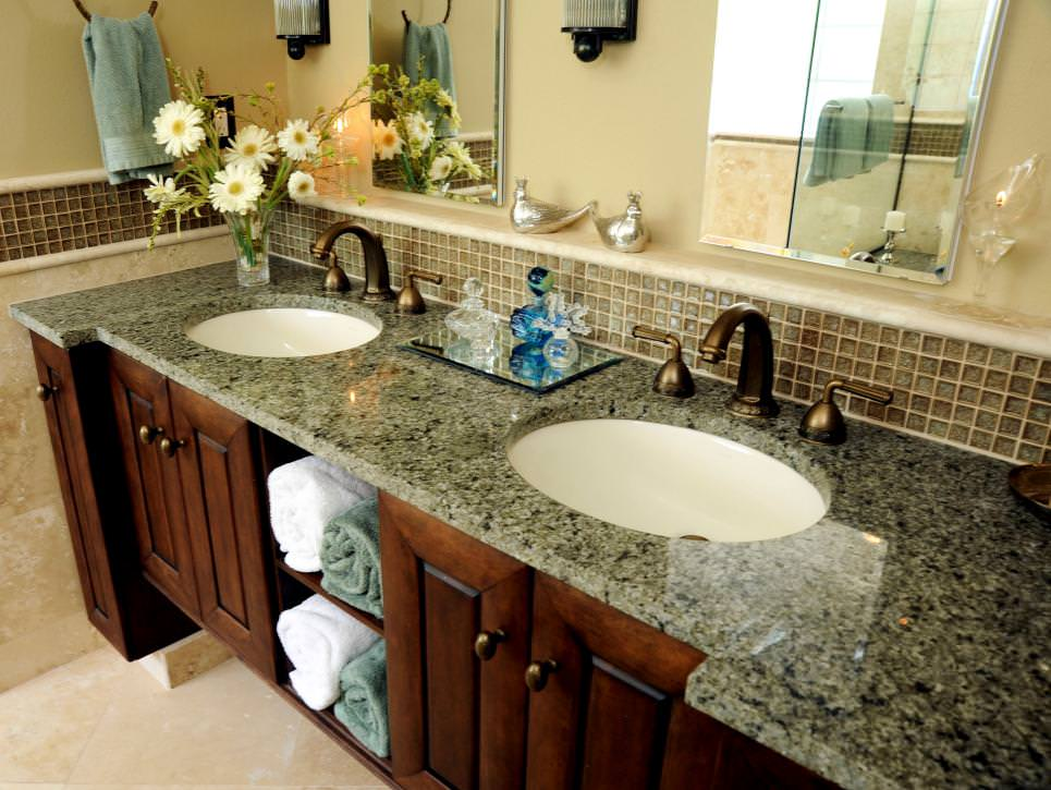Granite Double Vanity Tops Ideas