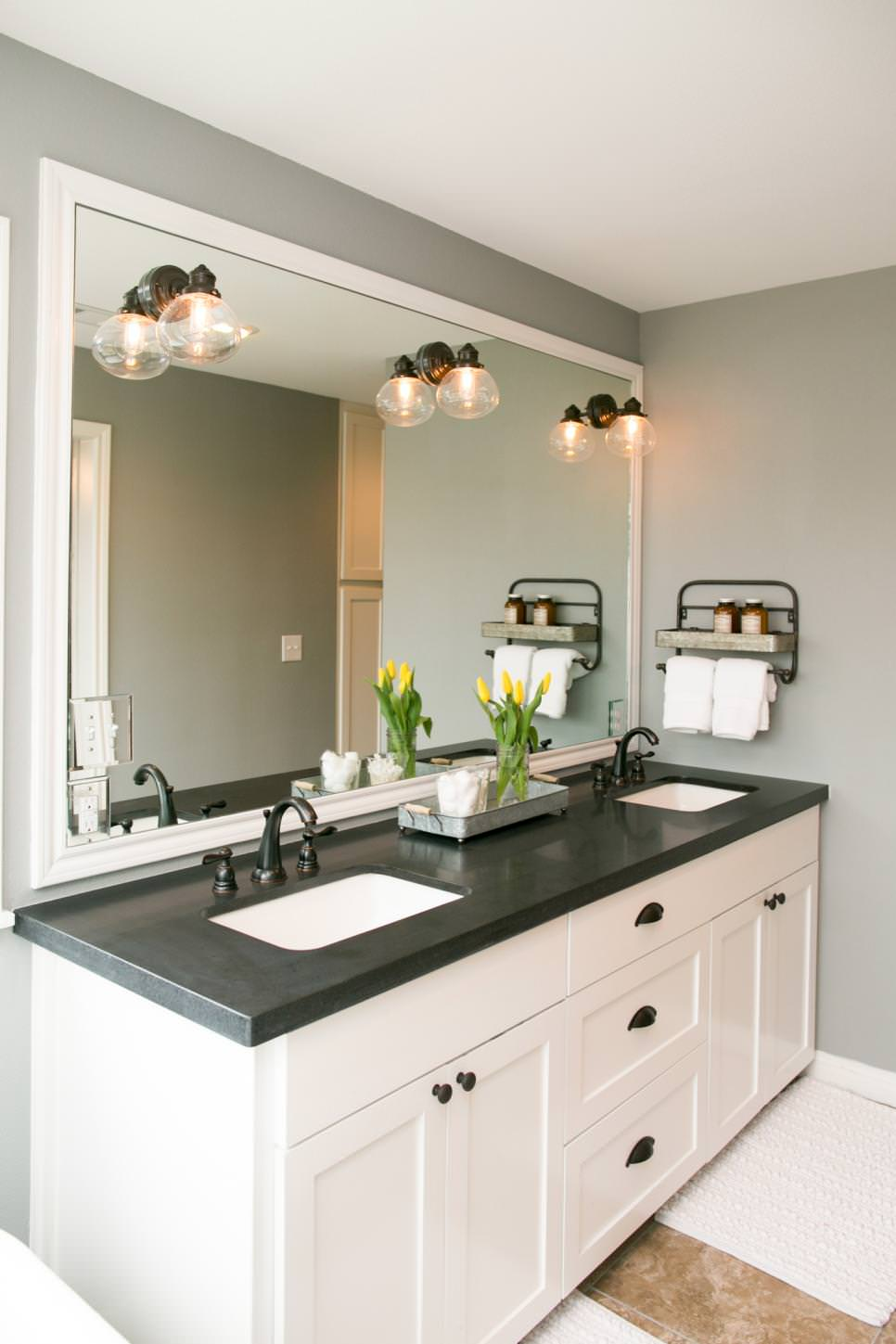 24 double bathroom vanity ideas bathroom designs for Bathroom vanity tops