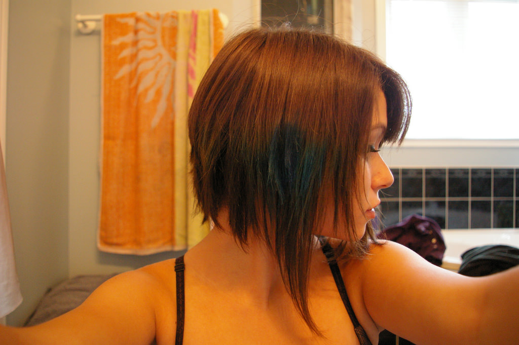 Colored Pixie Hair