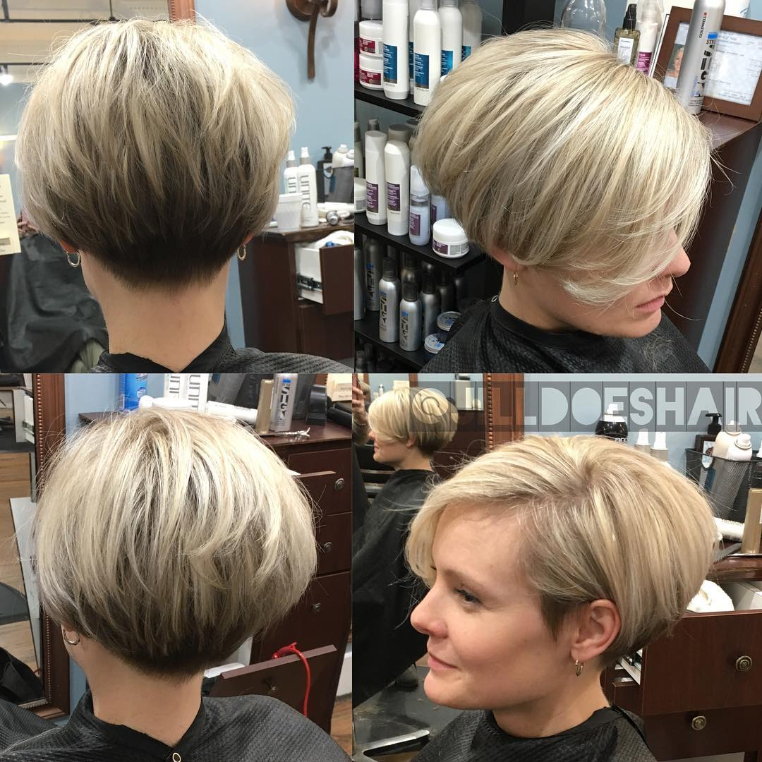 latest pixie cut