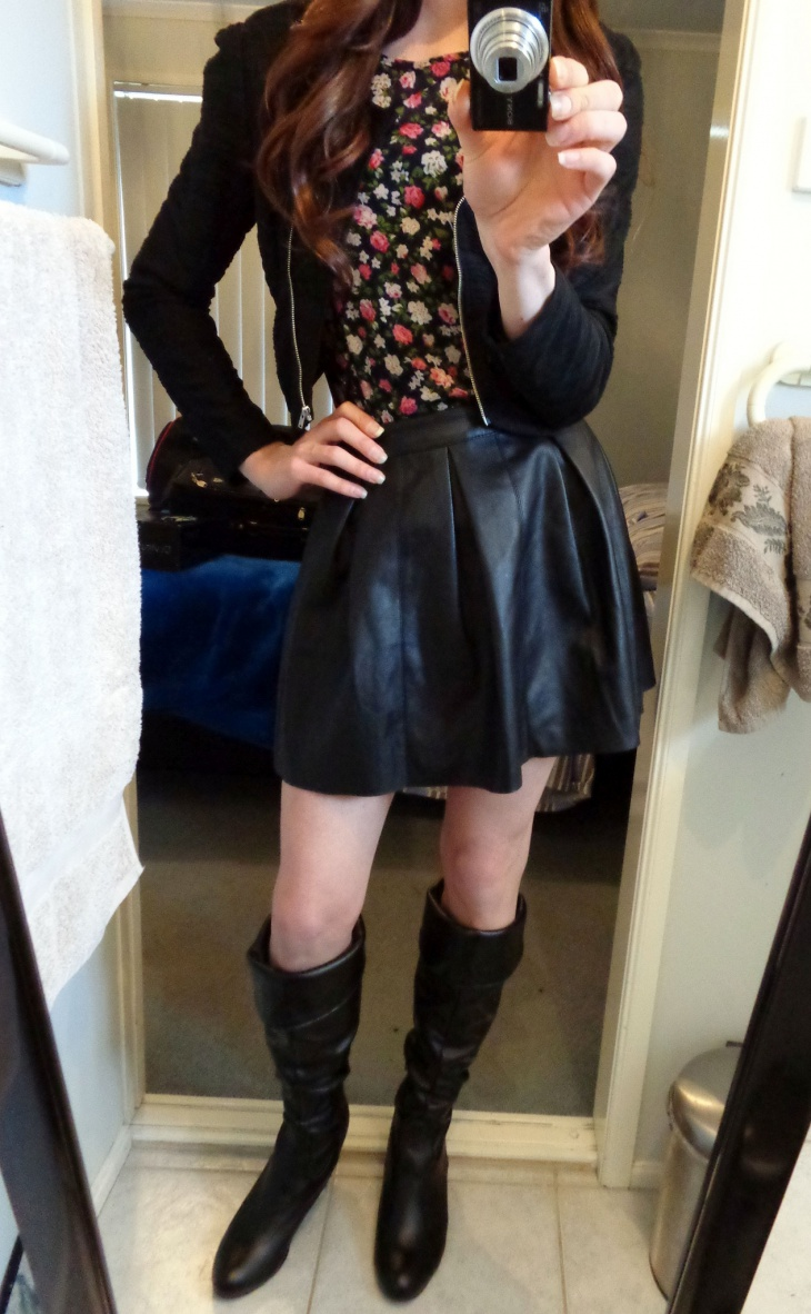 cute outfits with boots