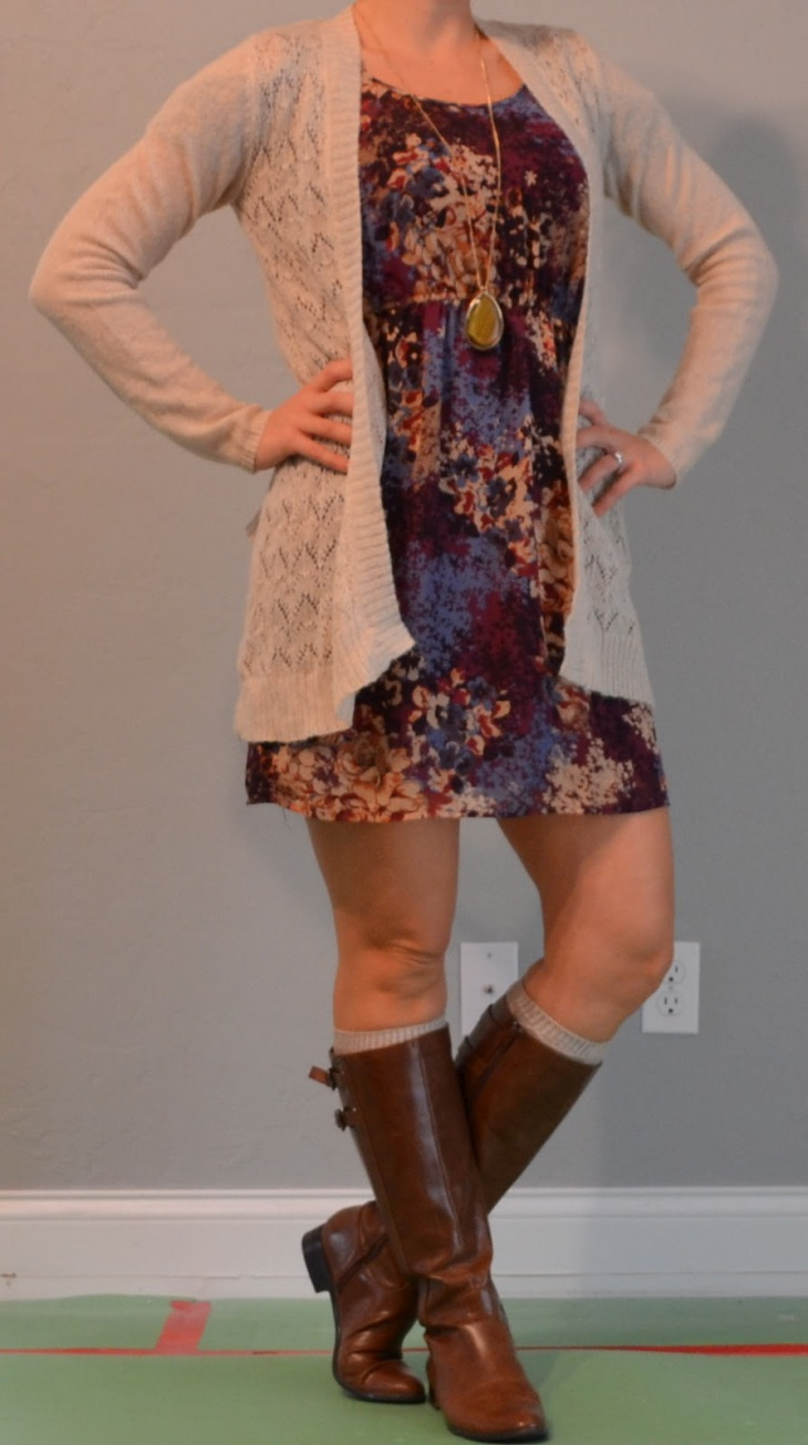 cute outfits with brown boots
