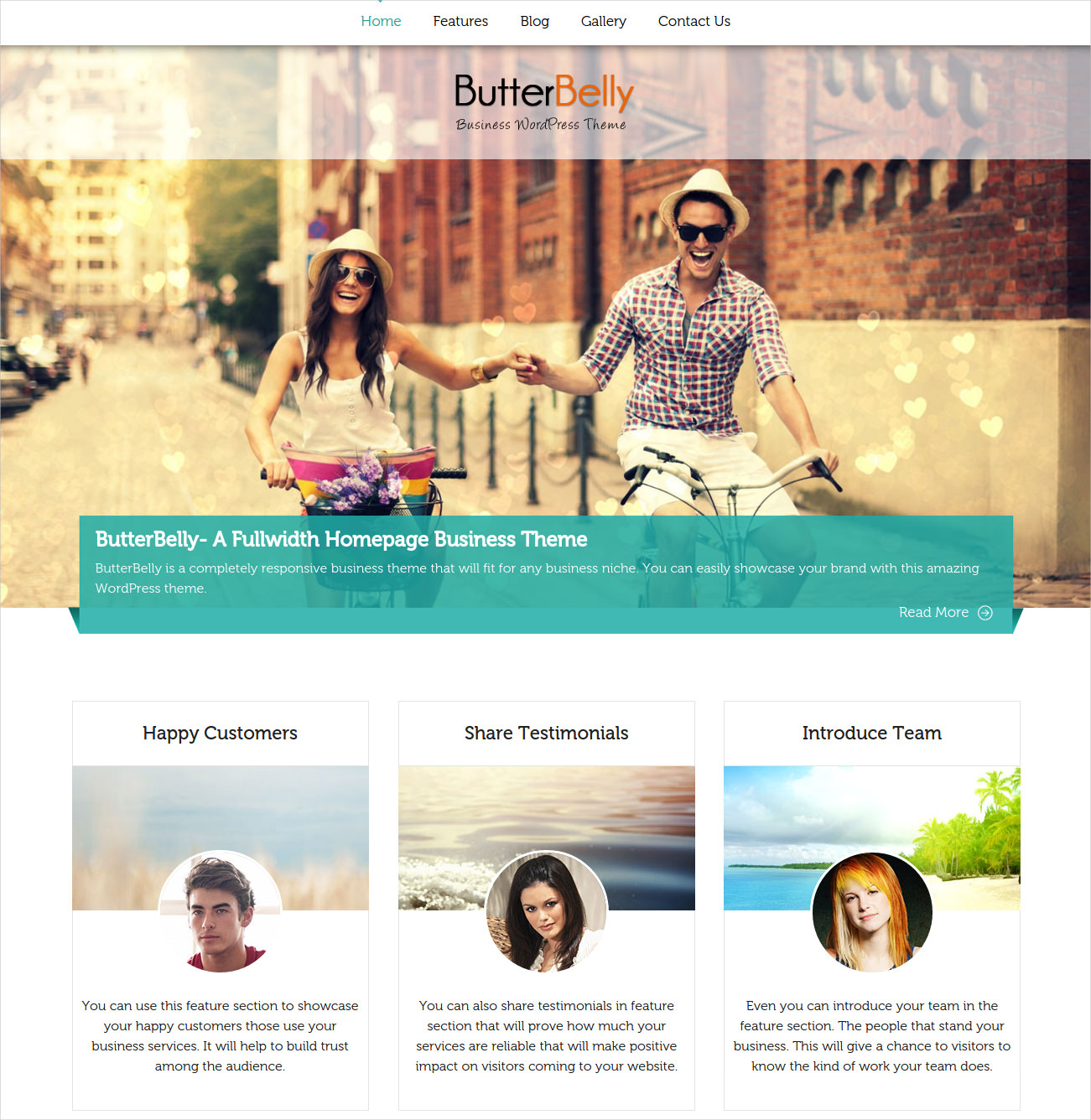 Corporate Business Craft WP Theme