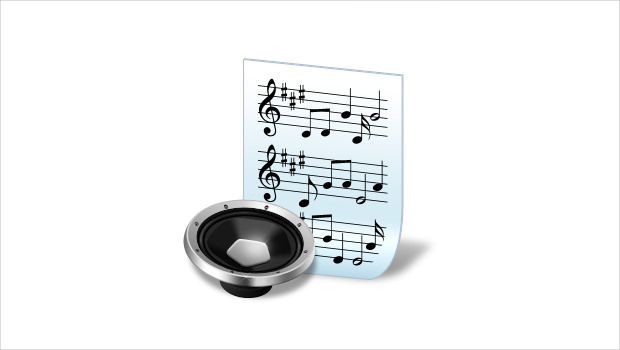 Document Audio Music Icons
