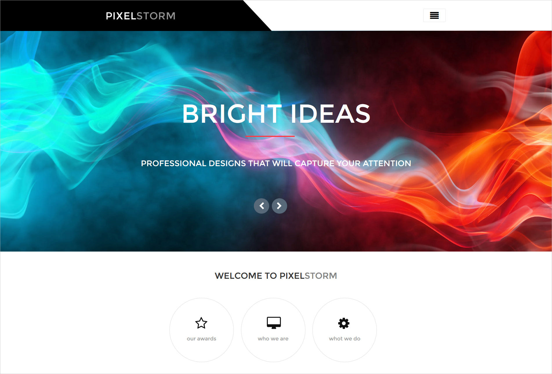 Pixel Storm WordPress Theme