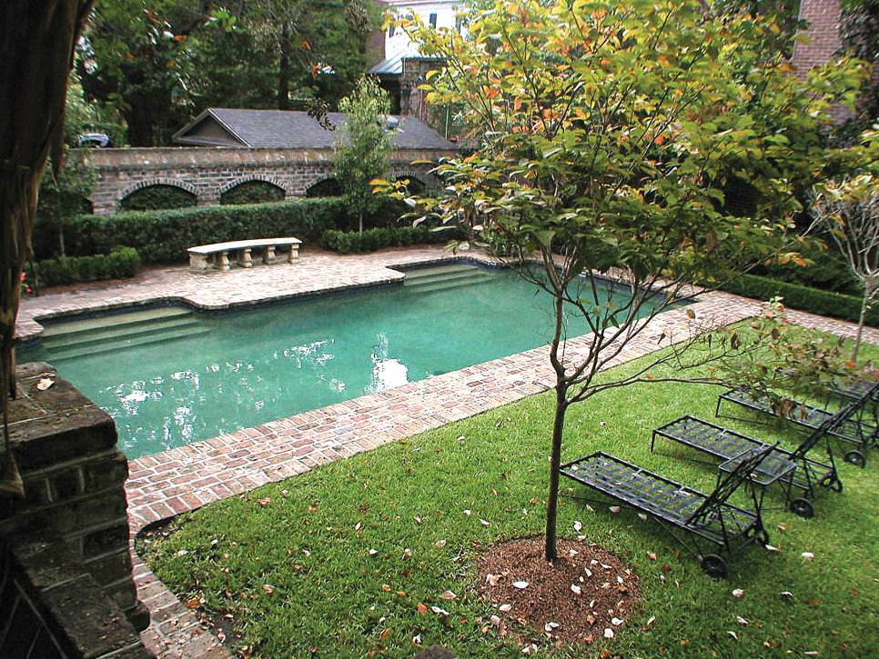 Low Level Inground Pool Designs