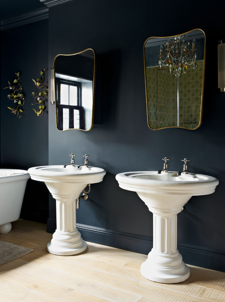 Classic Black and gold Bathroom Designs