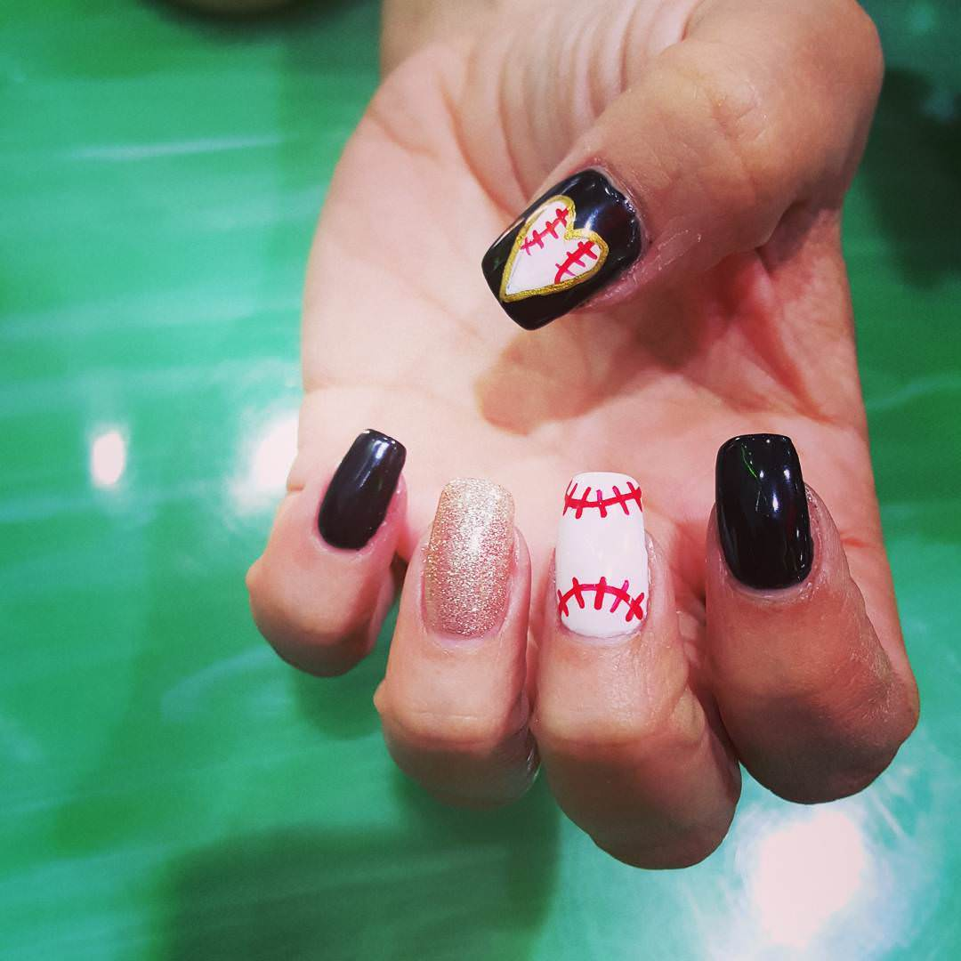 28 Awesome Base Ball Nail Designs Design Trends Premium Psd Vector Downloads