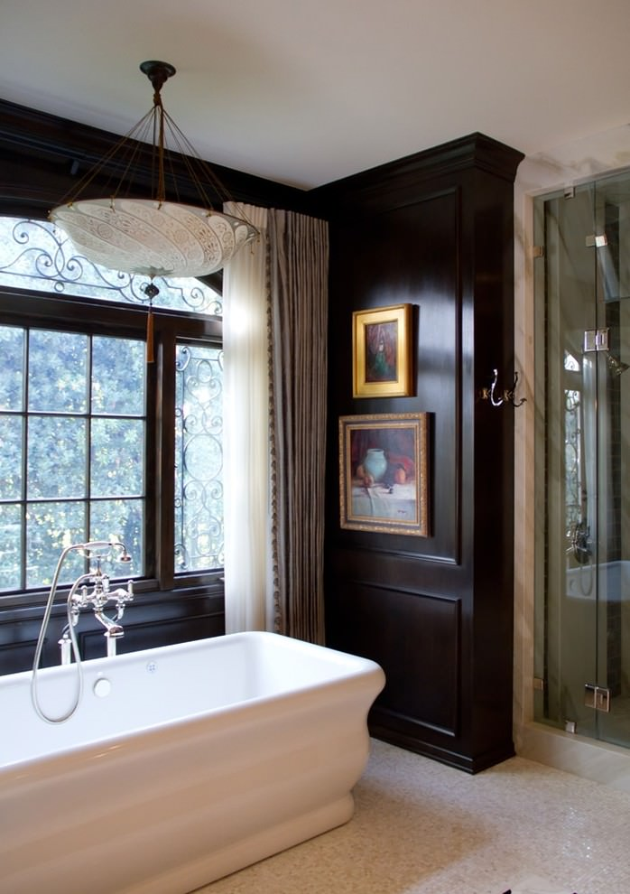 Serene Black and Gold Bathroom Ideas