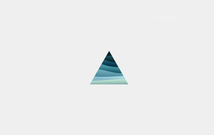 Triangle Waves Logo Design