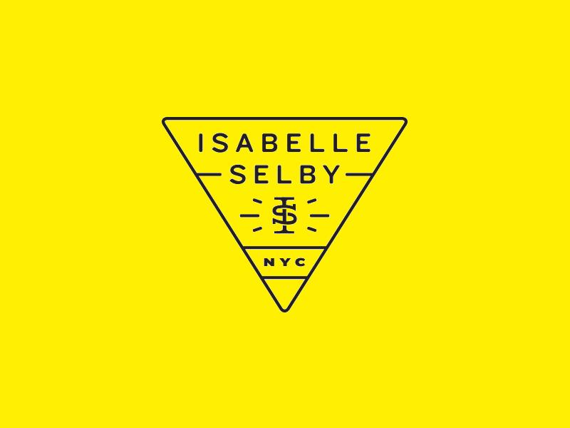triangular logo for photographer