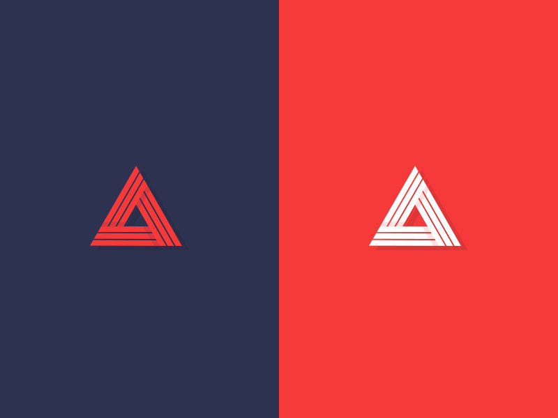 Triangular Logo Illustration