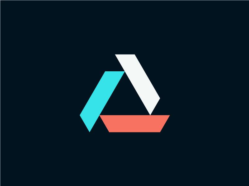 geometric triangle logo design - Logo Designs Ideas