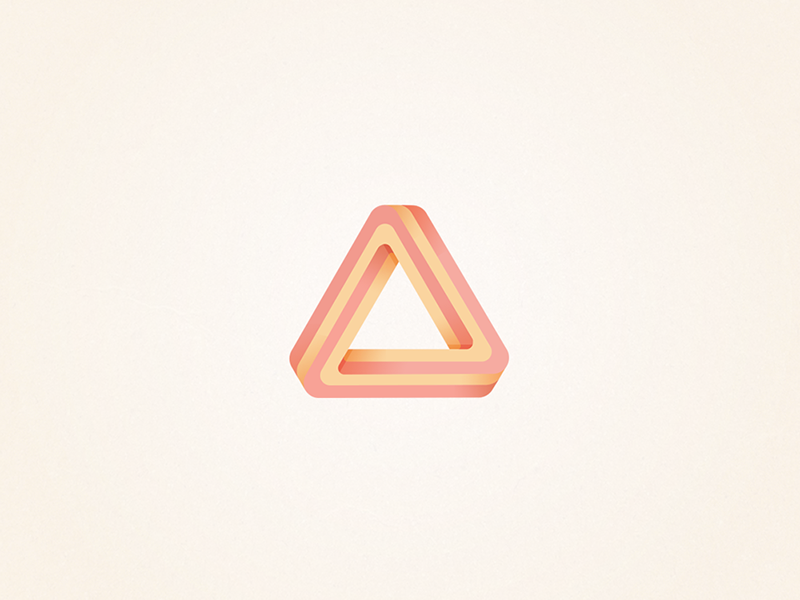 Triangular Vector Logo Design