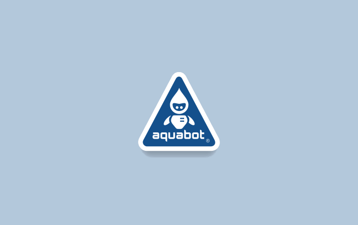 Aquabot Logo Design