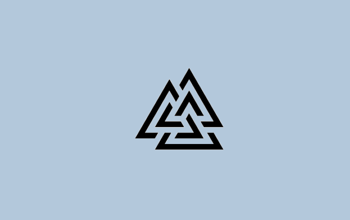 experimental triangle logo