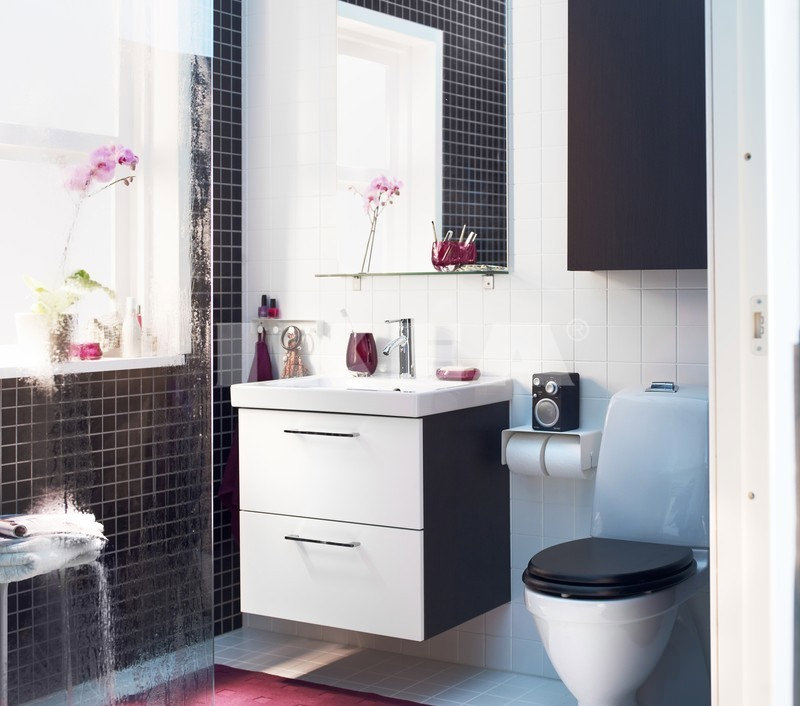 black and white cabinet ideas