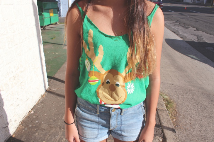 cute outfits with high waisted shorts