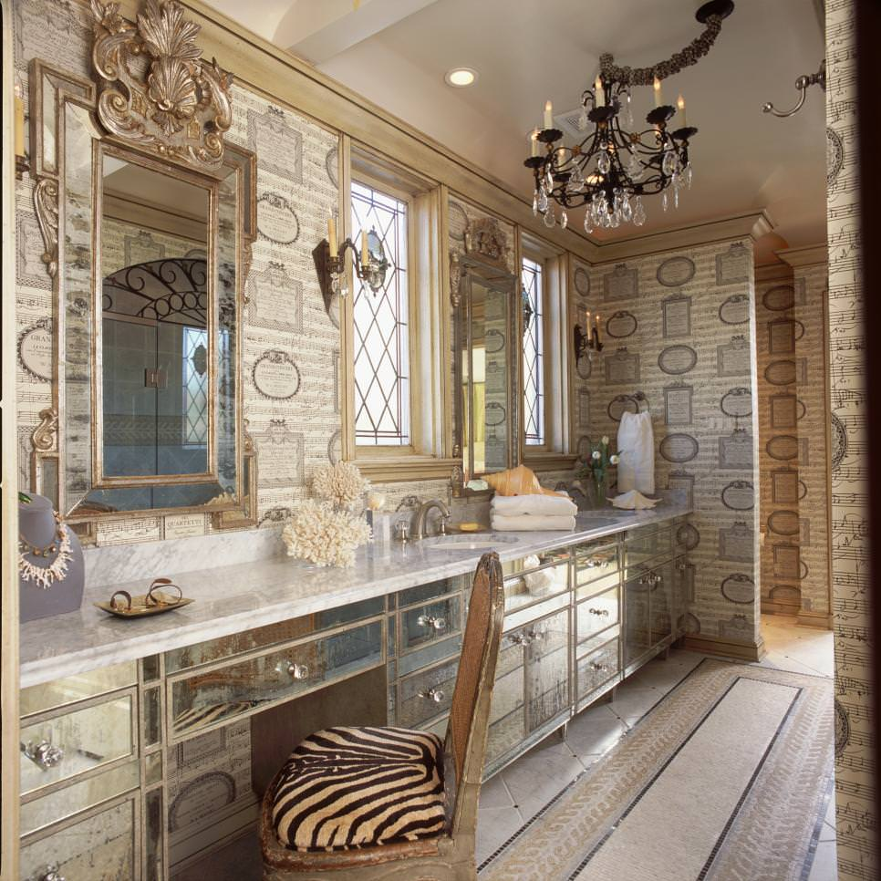 Chic Bathroom Furniture Designs