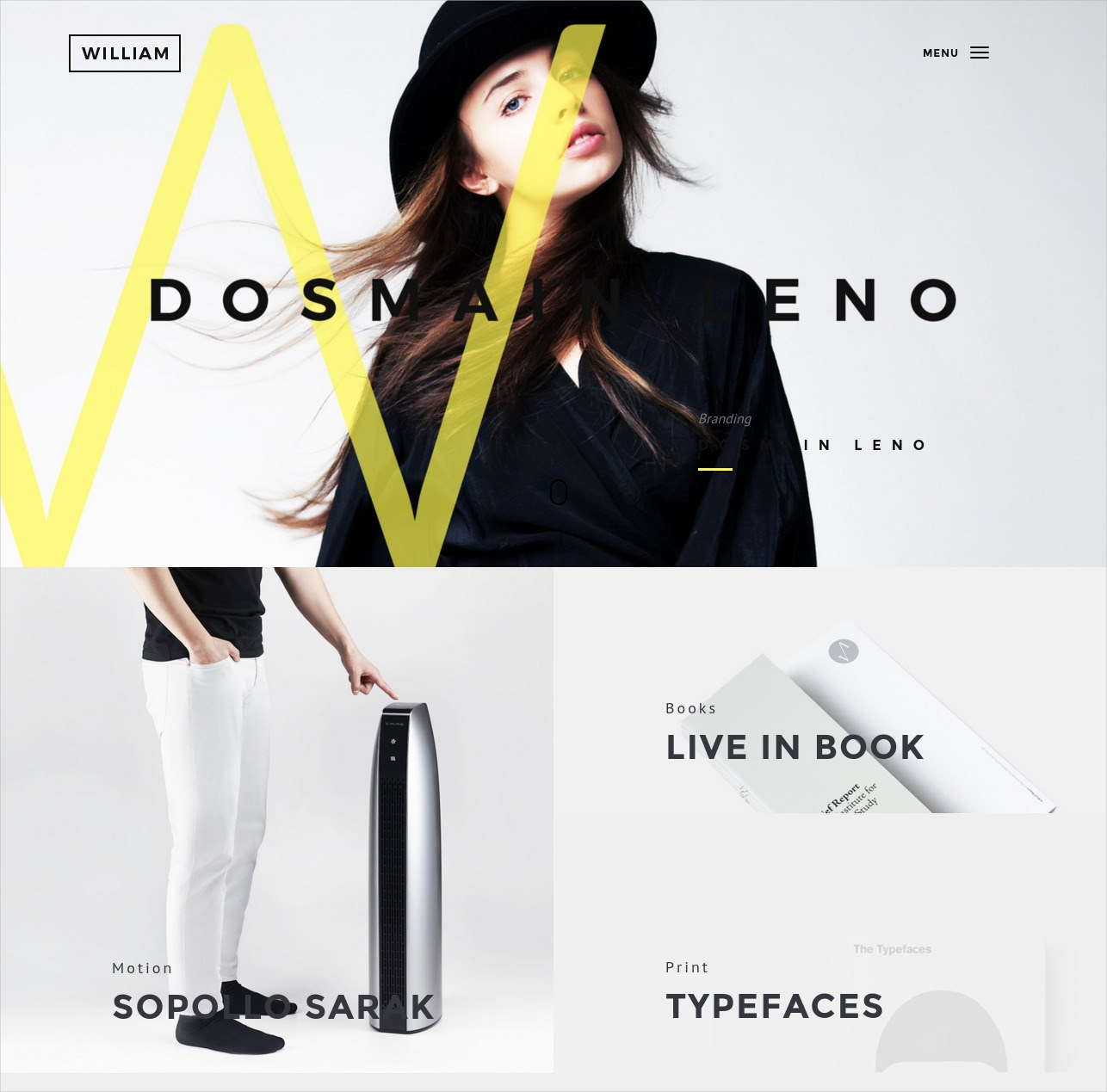 Creative Portfolio WP Theme