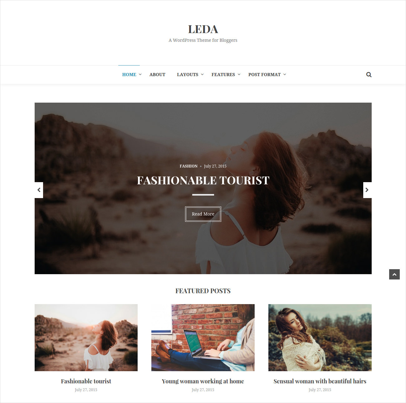 Flexible WordPress Blog Theme