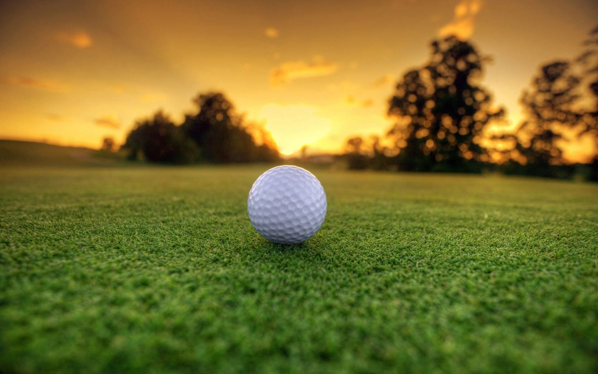 Elegant HD Wallpaper of Golf Ground
