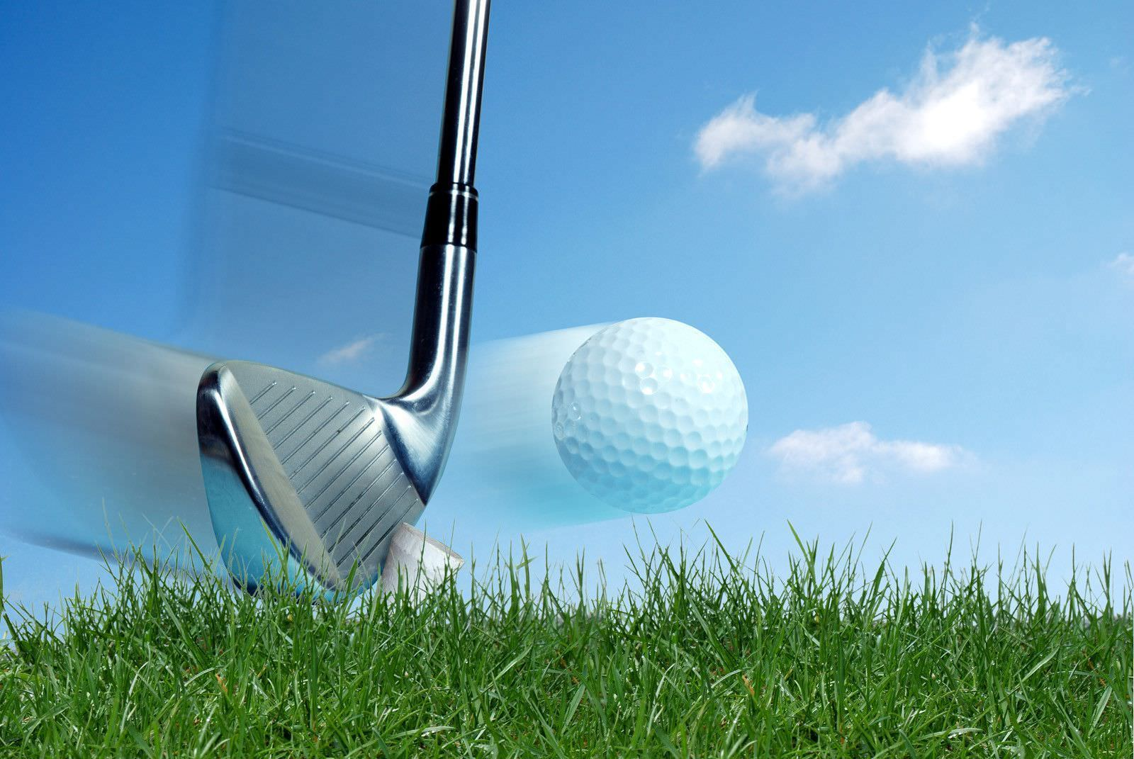 Golf Ball Graphic Design Wallpaper