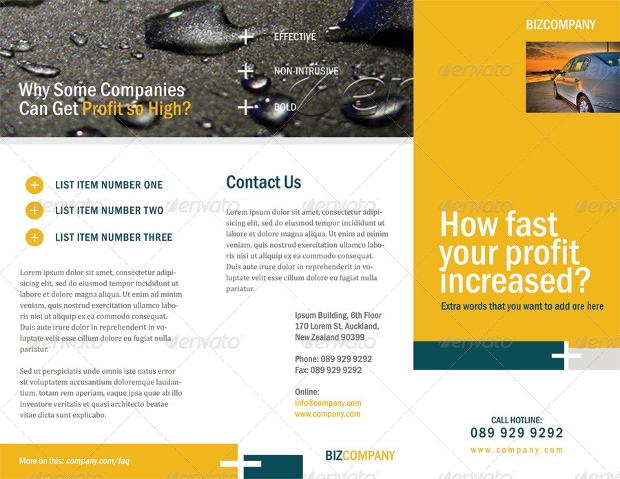 Clean Corporate Brochure