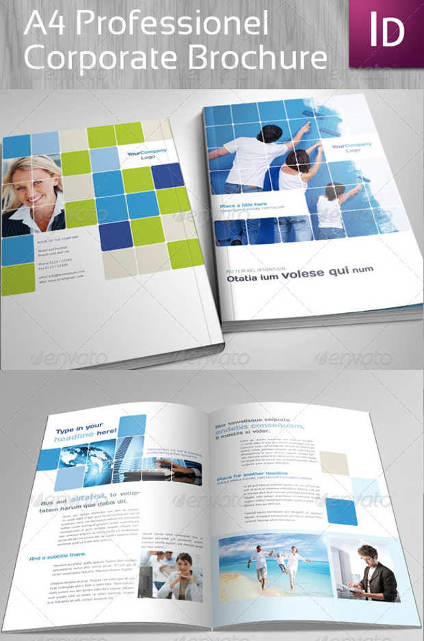 Corporate Brochure Design Psd Download  Design Trends