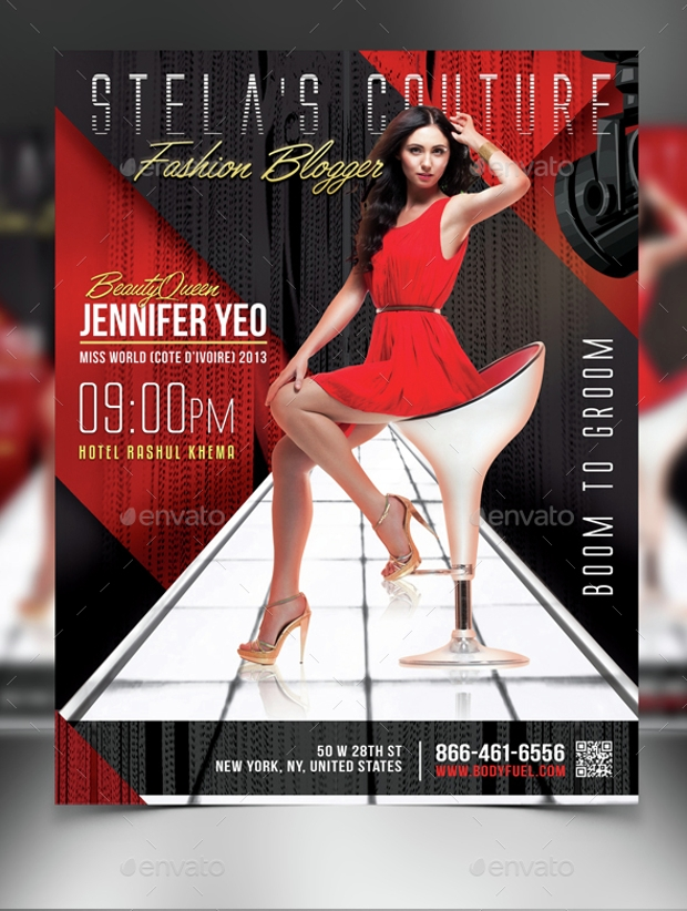 21  fashion flyer designs  psd download
