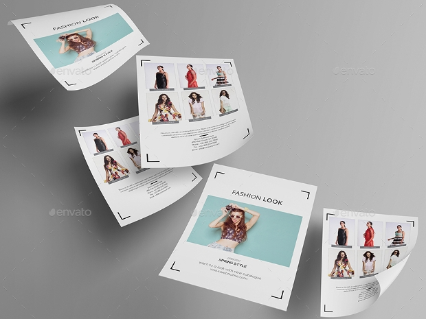 Fashion Look Flyer inDesign