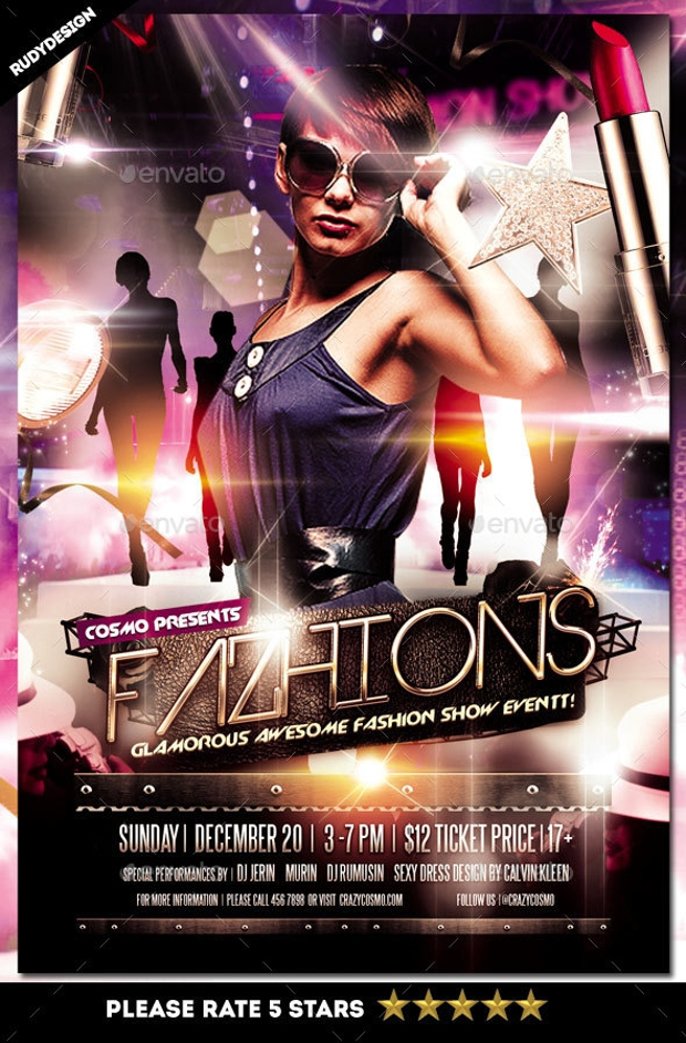 Fashion Show Event Flyer