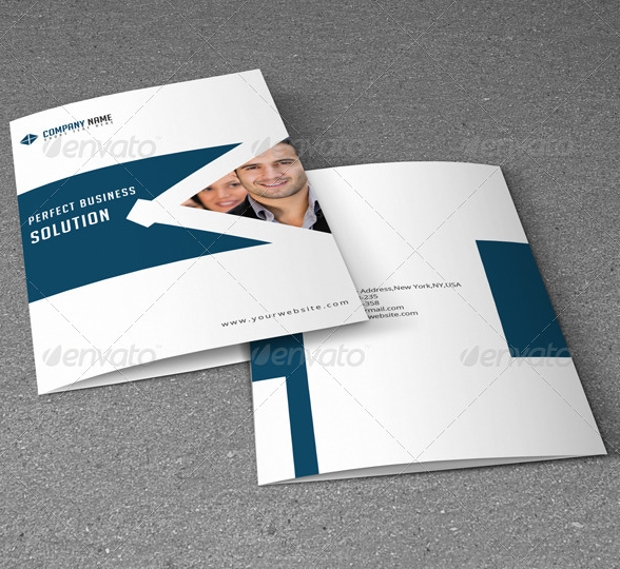 Bi-Fold Business Brochure Design