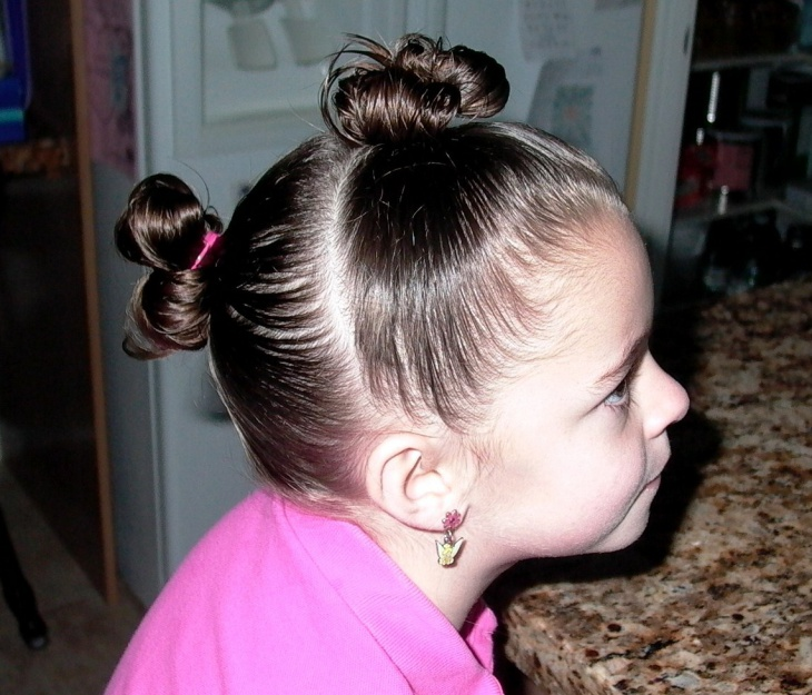 little girl hairstyles short