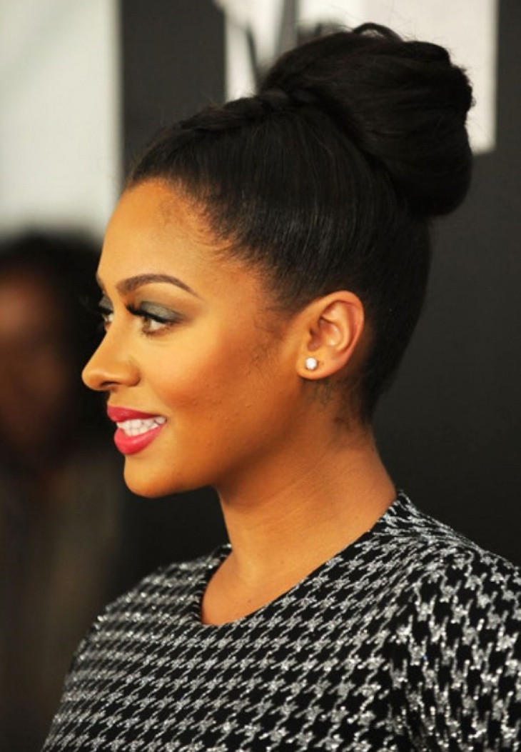 bun hairstyles for short black hair bun styles for black hair
