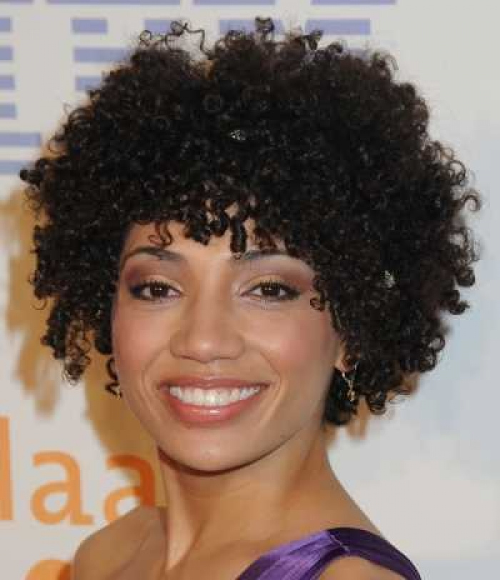 black natural short hairstyles