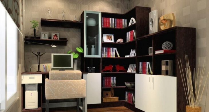 Home Office Cabinet Designs