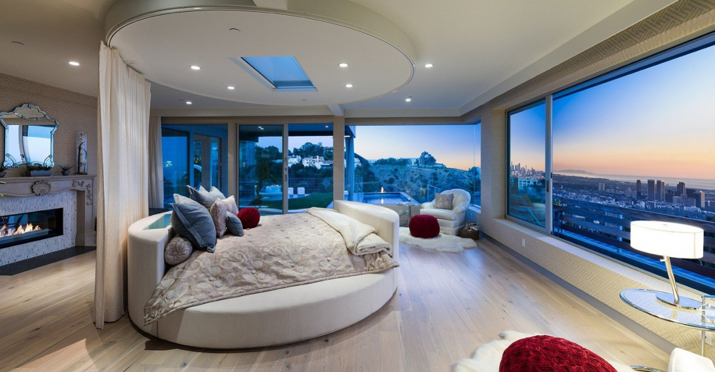 21 futuristic bedroom designs decorating ideas design for Casa del design milano