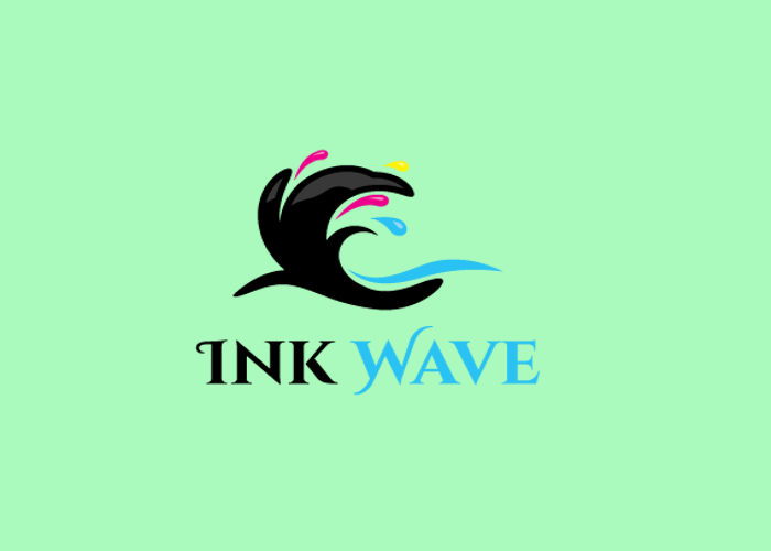 Black Wave Logo Design