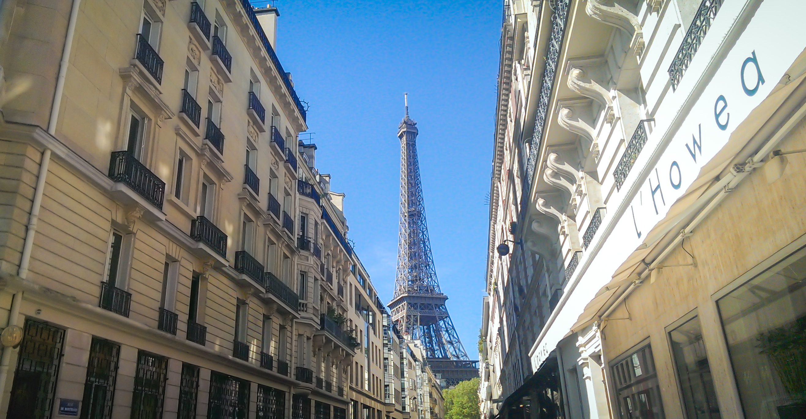 eiffel tower france street wallpaper background