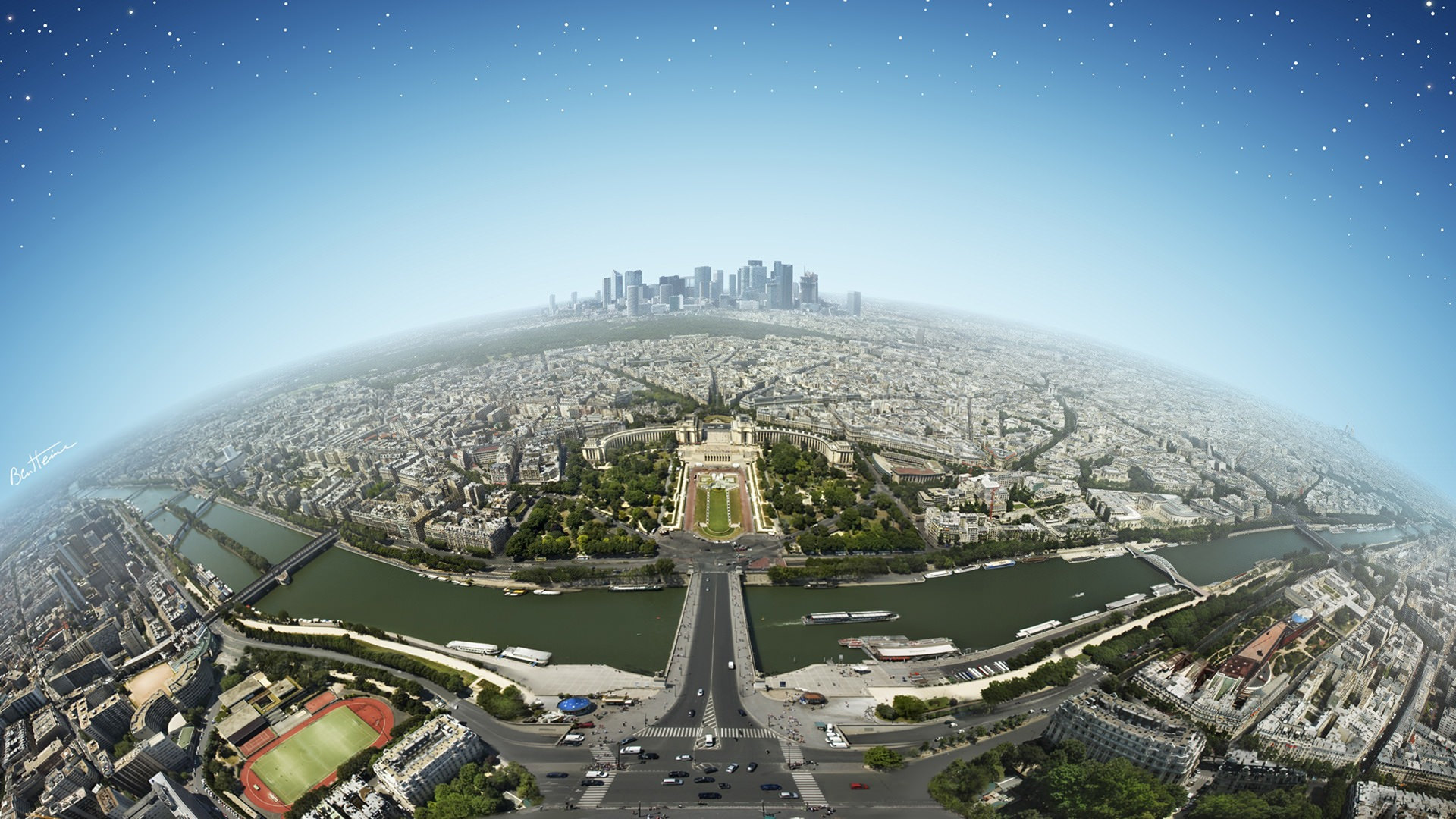 beautiful france city view background picture