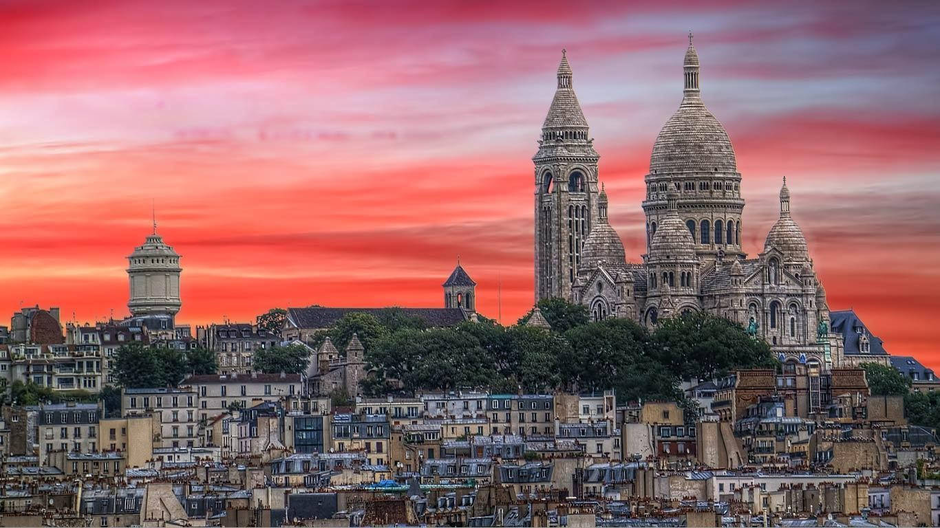 Awesome Montmartre France Wallpaper