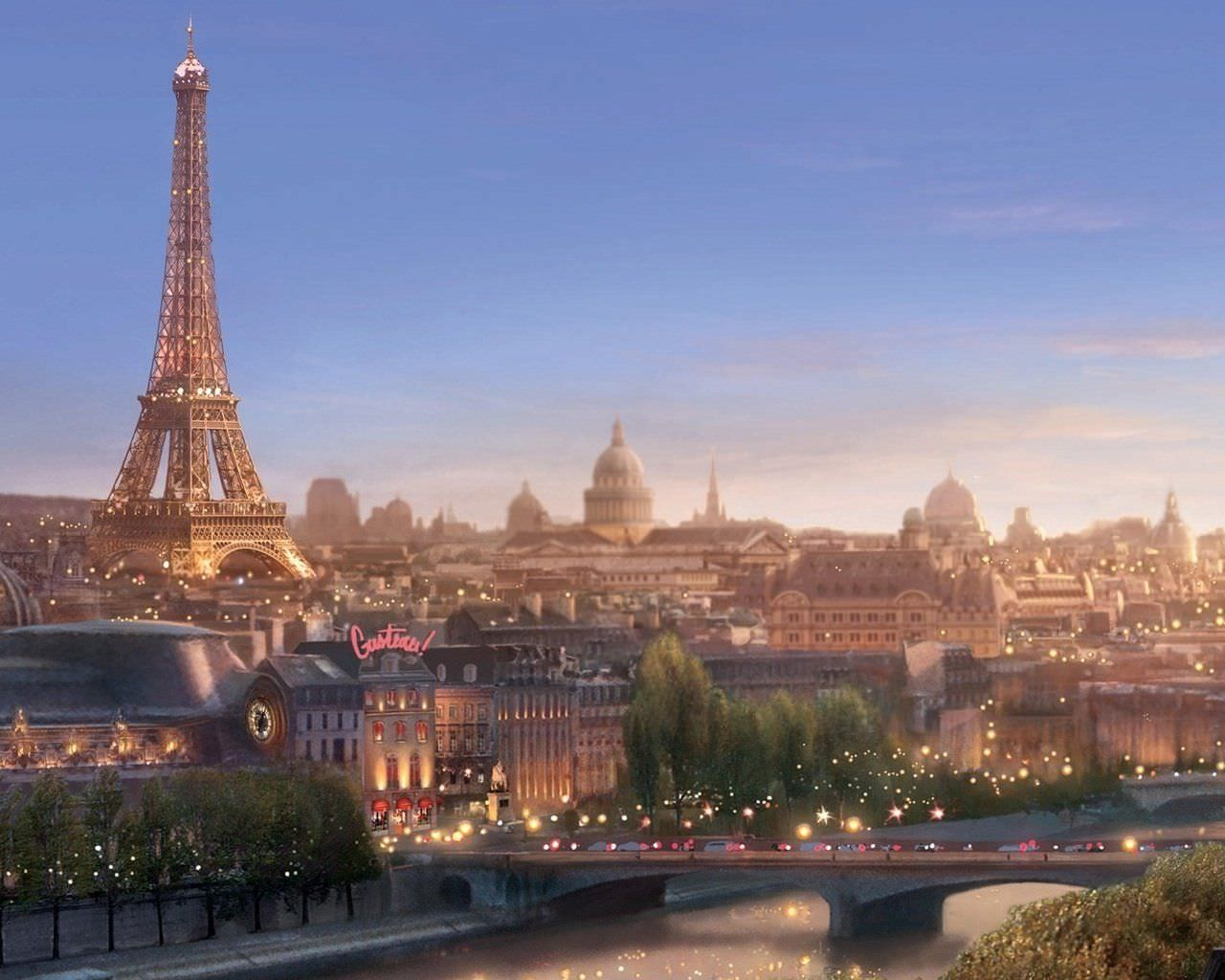 paris hd widescreen wallpaper