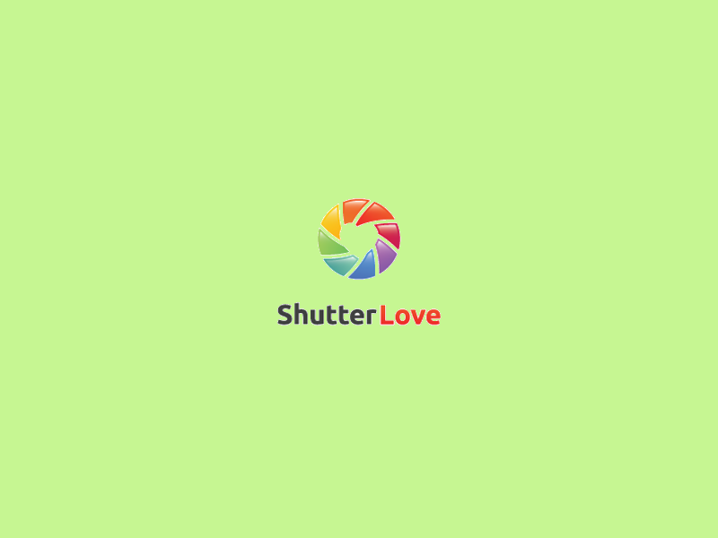 Rainbow Logo for Photography