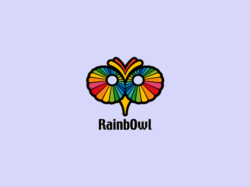 Rinbow Logo for Apparel