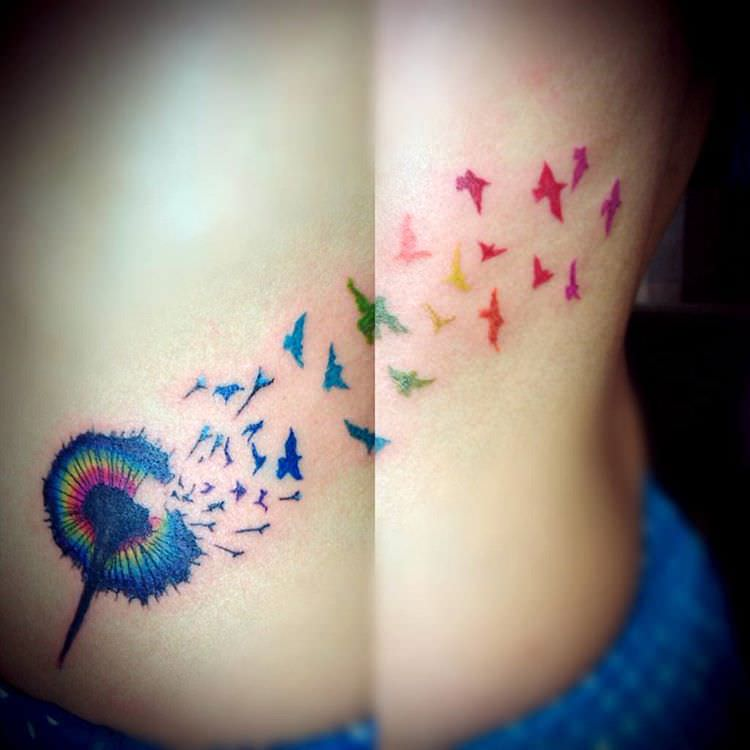 Awesome Colorful Tattoo