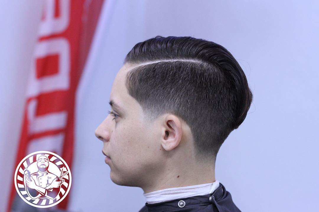 Spectacular Comb Over Haircut