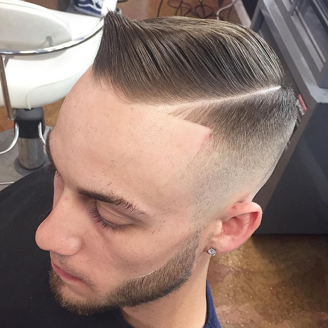 Amazing Comb Over Haircut
