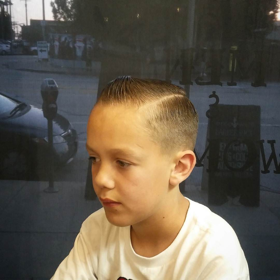 Kid Style-Comb Over Haircut
